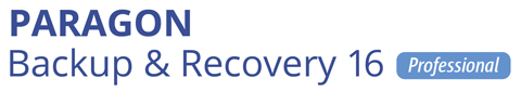 Paragon Backup & Recovery 16 Professional パラゴン バックアップ リカバリー 16 プロ